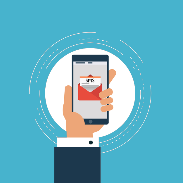 Alcance das Mensagens SMS