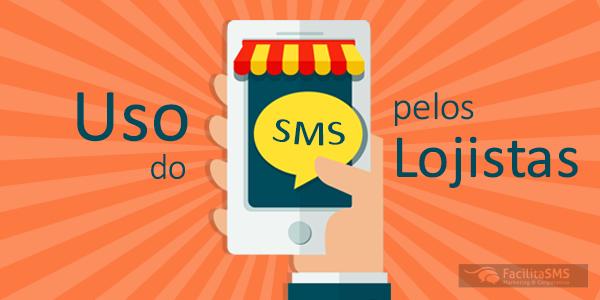 O uso do SMS pelos lojistas