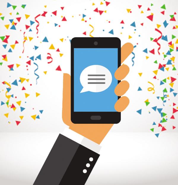 SMS de Aniversário