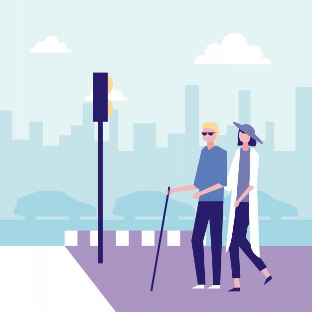 Como fazer campanhas acessíveis para pessoas com deficiência visual