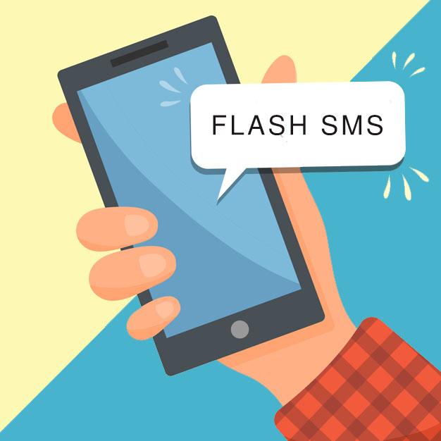 O que é Flash SMS?