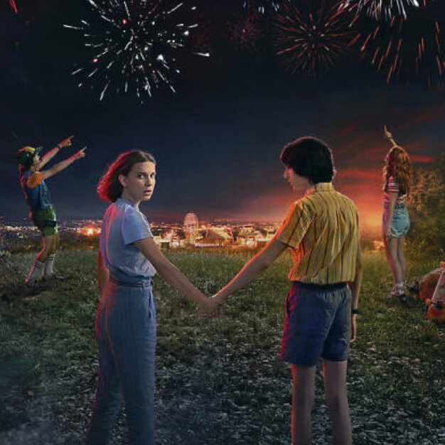 O lançamento de Stranger Things no seu marketing