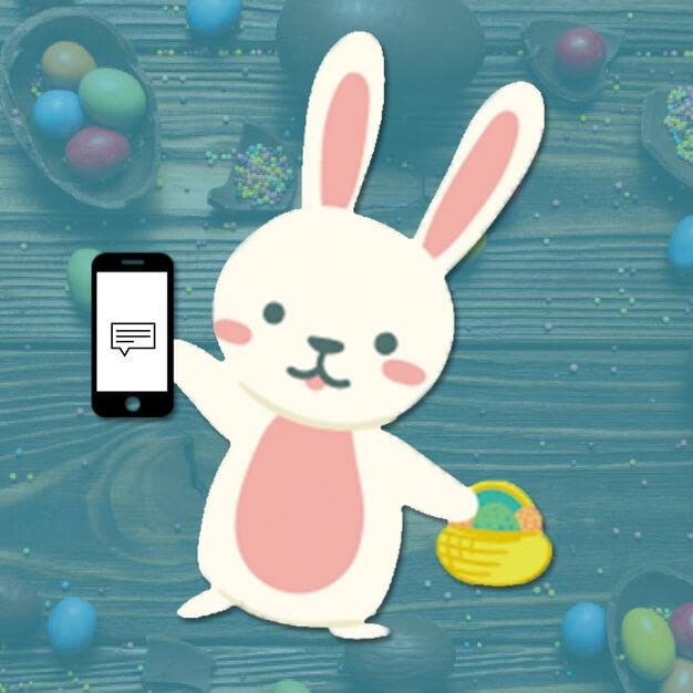 5 ideias para fazer SMS marketing na Páscoa
